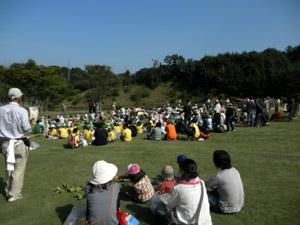 植樹に集まった人たち